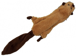 Игрушка для собак - Dog Fantasy Good's Skinneeez beaver, 35 cm