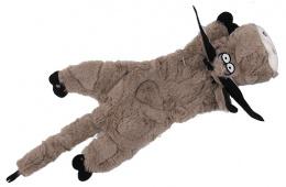 Rotaļlieta suņiem - Dog Fantasy Good's Skinneeez donkey, 35 cm