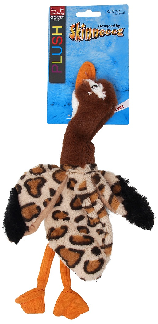 Игрушка для собак - Dog Fantasy Good's Skinneeez goose, 32.5 cm