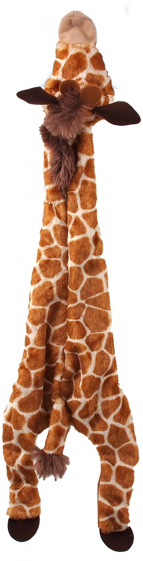 Rotaļlieta suņiem - Dog Fantasy Good's Skinneeez giraffe, 50 cm