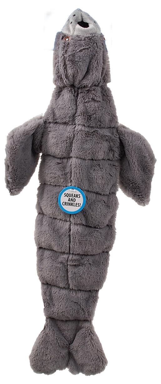 Игрушка для собак -  Dog Fantasy Good's Skinneeez seal with sound / С пищалкой, 52.5 cm