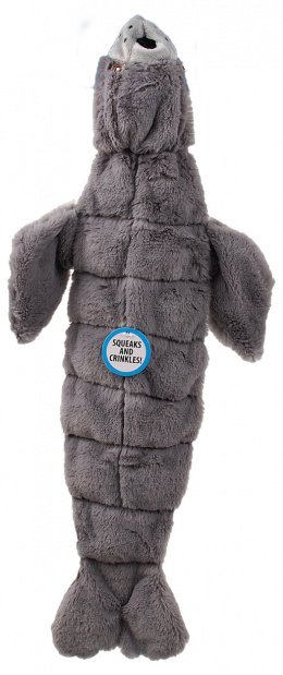 Игрушка для собак -  Dog Fantasy Good's Skinneeez seal with sound / С пищалкой, 52.5 cm