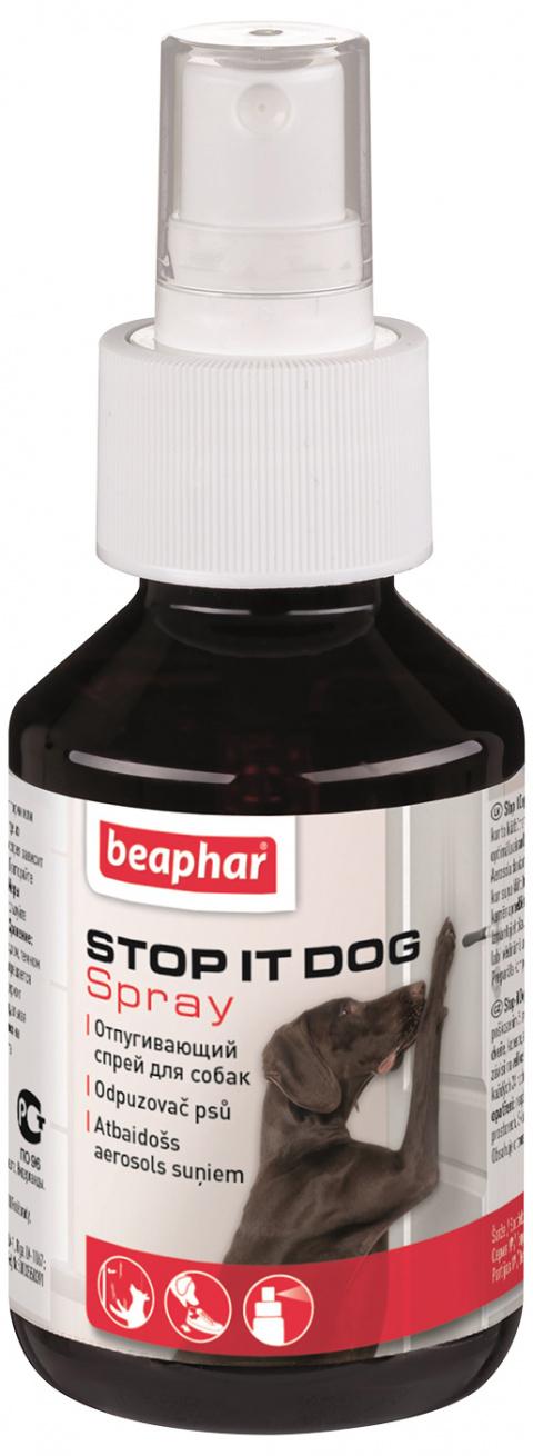 Suņus atbaidošs līdzeklis  - Beaphar Stop-it Dog 100 ml title=