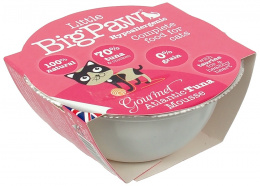 Konservi kaķiem - Little Big Paw Gourmet Atlantic Tuna Mousse 85g