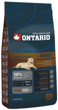 Barība suņiem - Ontario Low Activity Lamb 900g