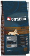 Корм для собак - Ontario Low Activity Lamb 900g
