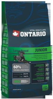 Barība suņiem - Ontario Junior Large Breed 2.5kg title=
