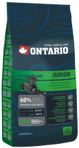 Barība suņiem - Ontario Junior Large Breed 2.5kg
