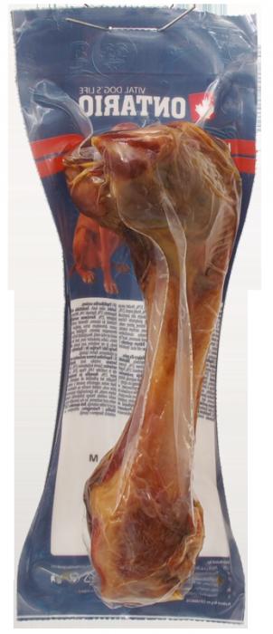 Gardums suņiem - Ontario Ham Bone M, 385 gr