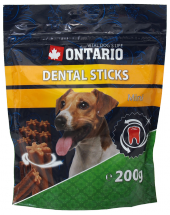 Gardums suņiem - Ontario Dental Stick Mini, 200 g