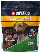 Лакомство для собак - Ontario Dental Stick Mini, 200 г