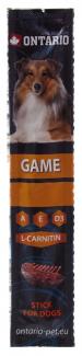 Gardums suņiem - Ontario Stick for dog, game, 12g title=