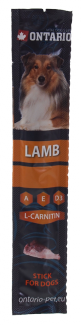 Gardums suņiem - Ontario Stick for dog, lamb, 12g