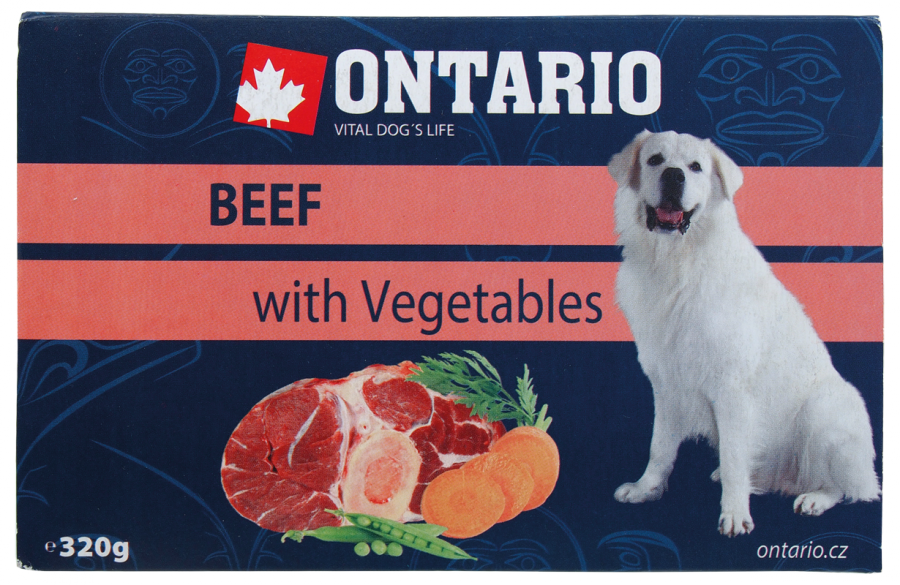 Ontario Pouch Beef with Vegetable 305g