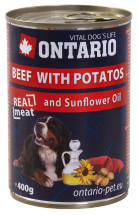 ONTARIO Can Beef, Potatos, Sunflower Oil