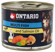 Ontario Can Mini MULTI FISH and Salmon Oil
