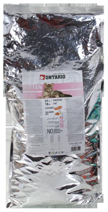 Barība kaķēniem - Ontario Kitten, 10 kg