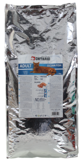 Barība kaķiem - Ontario Adult Ocean Fish, 10 kg title=