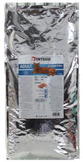 Корм для кошек - Ontario Adult Ocean Fish, 10 кг title=