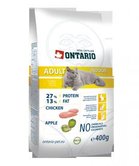 Корм для кошек - Ontario Adult Indoor, 400 г