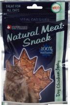 Лакомство для кошек - Ontario Dry Chicken Jerky, 70g