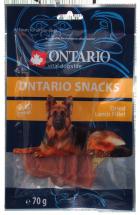 Лакомство для собак - Ontario Dry Lamb Fillet, 70 г