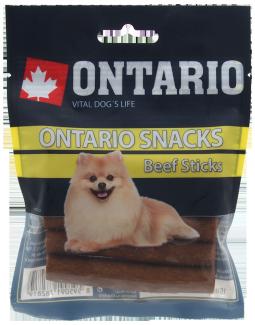 Лакомство для собак -  Ontario Rawhide Snack Stick, 7.5 см (5шт)