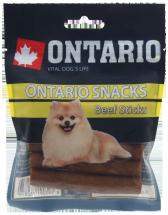 Лакомство для собак -  Ontario Rawhide Snack Stick 7,5cm (5шт)
