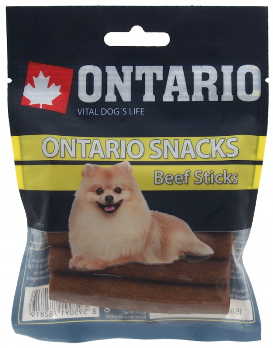 Ontario Rawhide Snack Stick 7,5cm 5ks