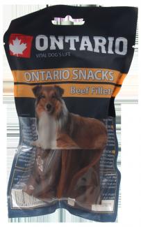 Лакомство для собак - Ontario Rawhide Snack fillets, 12.5 cm (10шт)