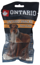 Лакомство для собак - Ontario Rawhide Snack fillets 12,5 cm (10шт)