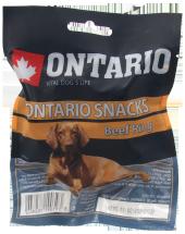 Gardums suņiem - Ontario Rawhide Snack Rings 8,75 cm (1gb)