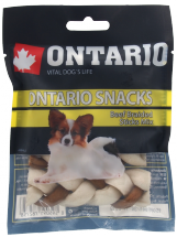 Лакомство для собак – Ontario Rawhide Snack Braided Stick Mix 7,5 см (4 шт.)
