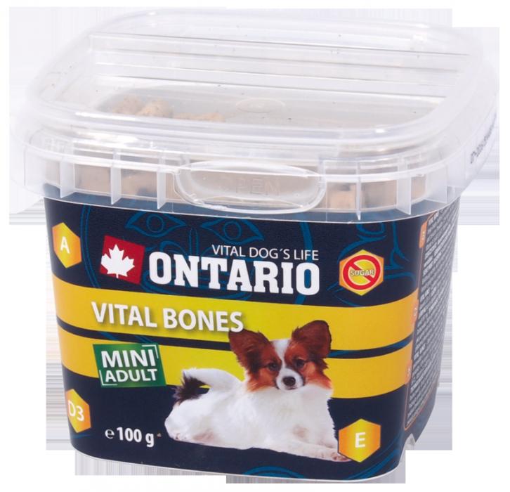 Gardums suņiem - Ontario Snack Vital Bones 100g