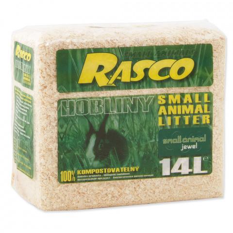 Опилки- Rasco 14 l, 900g title=