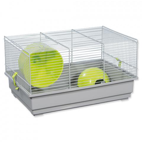 Клетка для грызунов – Small Animal Richard (gray/green), 39 x 25,5 x 22 см title=