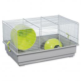 Клетка для грызунов – Small Animal Richard (gray/green), 39 x 25,5 x 22 см