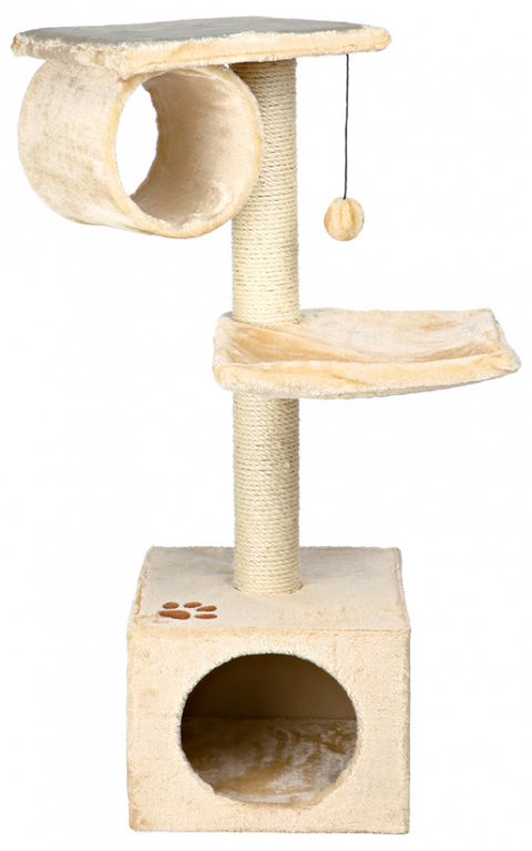 """Mājiņa kaķiem - """"San Fernando"""" 106cm (bēša krāsa) title="""
