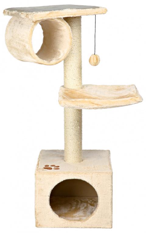 Mājiņa kaķiem – TRIXIE San Fernando, 106 cm, Beige title=