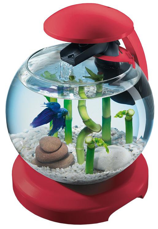 Аквариум - Tetra Cascade LED, 6.8 л, цвет - бордовый