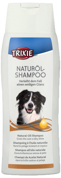 Šampūns suņiem - Trixie Natural-Oil Shampoo 250 ml