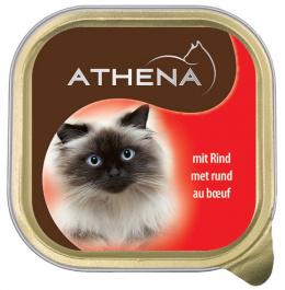 Консервы для кошек - Athena 100г,  (говядина)