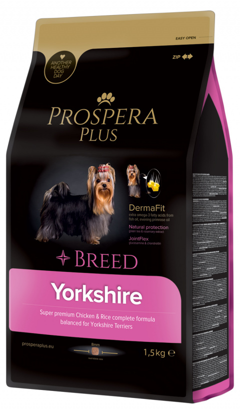 Bar­ība suņiem - Prospera Plus Yorkshire, 1,5 kg title=