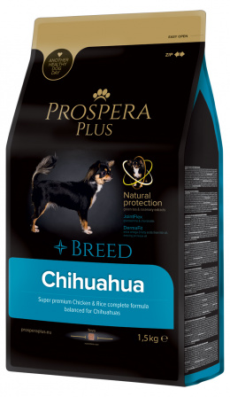 Barība suņiem - Prospera Plus Chihuahua, 1,5 kg