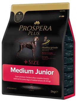 Barība kucēniem - Prospera Plus Medium Junior, 3 kg