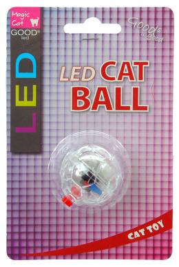 Rotaļlieta kaķiem -  Magic Cat Toy LED flash ball, 3.75 cm