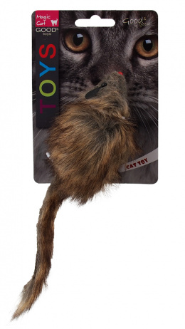 Rotaļlieta kaķiem - Magic Cat Toy gigant mouse, plush with catnip, 21cm