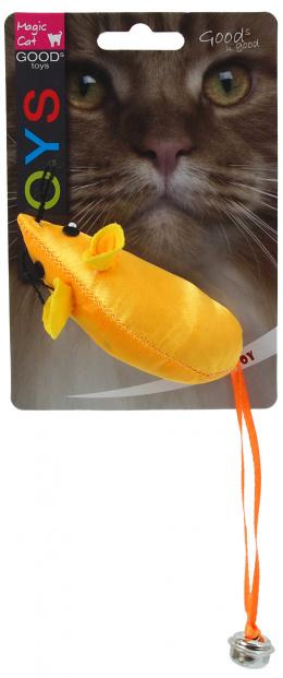 Игрушка для кошек - Magic Cat Toy neon mouse, 8.75см