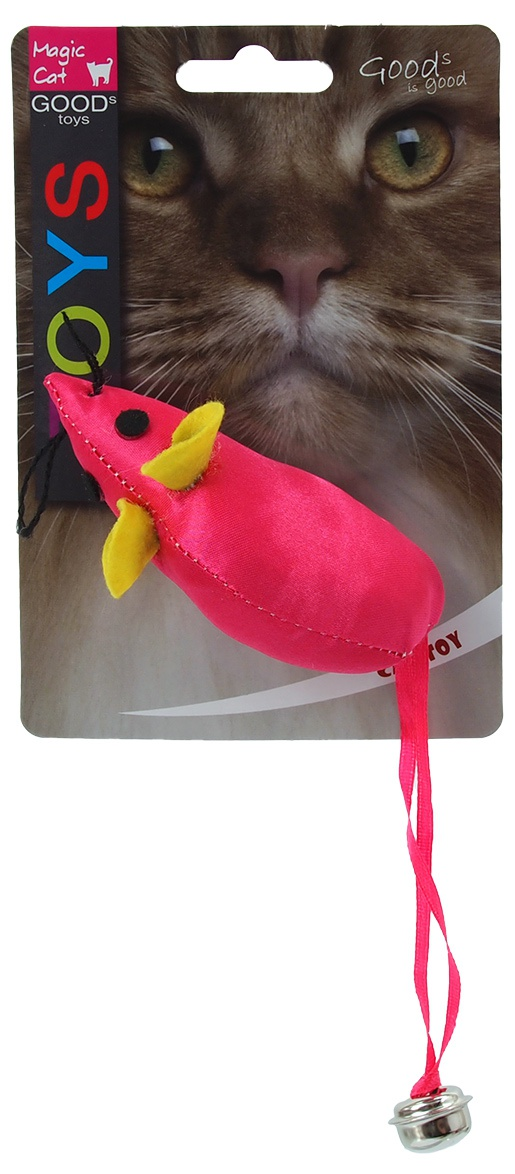 Rotaļlieta kaķiem - Magic Cat Toy neon mouse, 8.75cm