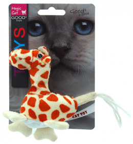 Игрушка для кошек - Magic Cat Toy animal with spots, mix 12.5см